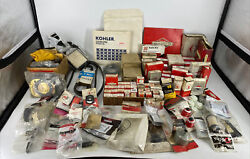 Huge Lot Over 150 Pieces Lawn Mower Replacement Parts Briggs Stens Tecumseh
