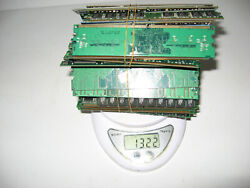 2.91 Lbs 1320 Gram Computer Ram Memory For Gold Recovery Scrap With Fingers