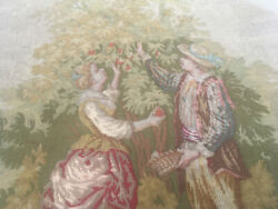 Tapestry of a romantic couple antique