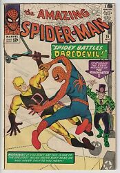 Amazing Spider-man 16 Vg/f 5.0 Affordable, Very Nice Solid Copy Daredevil Wow