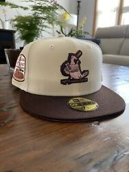 """St. Louis Cardinals 1967 """"neapolitan"""" Asg Fitted Hat Rare Banned Size 7 3/8"""