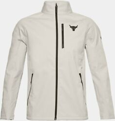 Menand039s Under Armour Project Rock Coldgear Infrared Storm Jacket Size Small