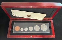 2011 Canadian 100th Anniversary Of Canada's 1911 Silver Dollar Set