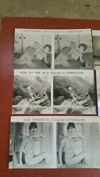 Lot Of 10 Vintage Nude Asian Woman Photos Stereovision Viewer Shipping Only Usa