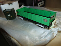 Mth Standard Gauge 10-1074 212 Green Gondola W/containers Brand New In Orig.box