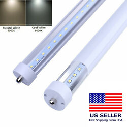 4000k/6000k T8 Led Tube 8ft Fa8 Single Pin Indoor Led Fluorescent Replacement
