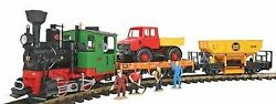Lgb G Scale Work Train Starter Set Ships In 1 Bus Day   72403