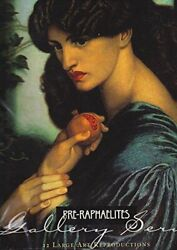 Pre-raphaelites Gallery Series - 12 Large Art Reproductions Book The Fast Free