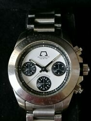 Vintage Anonimo Chronograph Model 5000very Early Rare Watch Only 250 Made.