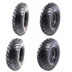 4x Sport Atv Tires With Rims At 23x7-10 23x7x10 For Quad Utv Lawn Mower Buggy
