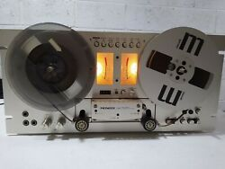 Pioneer Rt-707 Open Reel Tape Recorder / Tape Deck Tested Excellent Condition