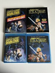 Family Guy Its A Trap And Something Dark Side Blu-ray Disc With Slipcover