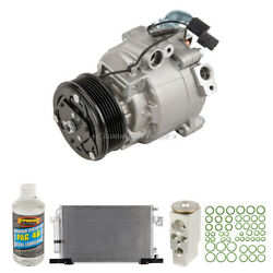 For Mitsubishi Lancer 2008-2015 A/c Kit W/ Ac Compressor Condenser And Drier Tcp