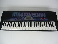 Casio Ctk-451 Keyboard Piano Missing Battery Cover - Works Perfectly Ac Adapter