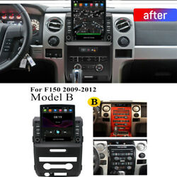 For 2009-2012 Ford F150 Model B 9.7and039and039 Vertical Stereo Radio 2+32gb Android 10.1