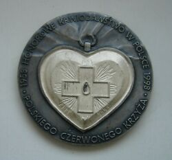 Poland Polish Red Cross Blood Donor Medal