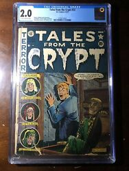 Tales From The Crypt 23 1951 - Pre-code Horror - Cgc 2.0