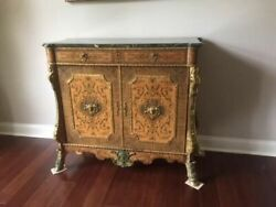 Antique French Louis Xvi Style Cabinet/console