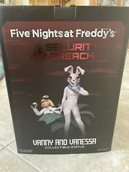 Five Nights At Freddy's Vanny And Venessa Collectible Statue 12 Inches Tall