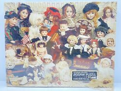 The Doll Shop - An Authentic Springbok Jigsaw Puzzle Over 500 Pieces -new Sealed