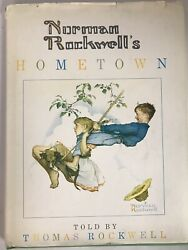 Norman Rockwelland039s Hometown By Thomas And Norman Rockwell Signed