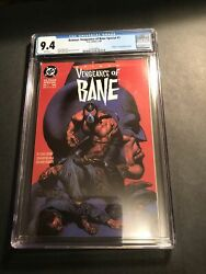 Vengeance Of Bane 1, Cgc 9.4 White Pages Free Shipping