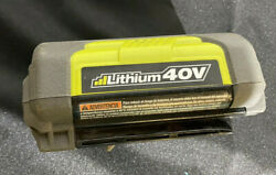 Ryobi OP40426 40V Lithium Ion 93.6Wh Battery parts or repair only