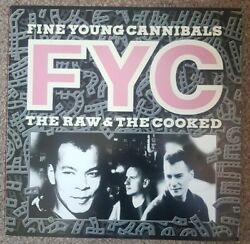 Fine Young Cannibals The Raw And The Cooked Vinyl Original Lp Excellent