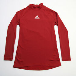 No Current Team Adidas Climacool Long Sleeve Shirt Menand039s Red/black Used