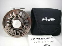 Pflueger Patriarch 11/12 Large Arbor Fly Reel For Big Game Rod 8-10 Wt Spey