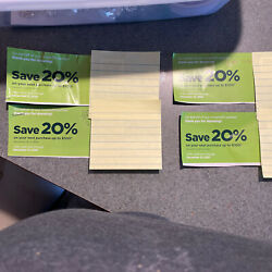 4 Coupons Savers Thrift Store 20 Off Up To 100 Saving Exp 12/31/2021 In Store