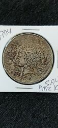 1924 Km150 Peace Silver Dollar And039spotted Toningand039
