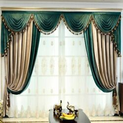 Velvet Curtains Window Treatment For Living Room Bedroom Curtain Home Decoration
