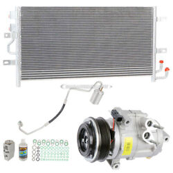For Ford Flex Lincoln Mkt Ecoboost A/c Kit W/ Ac Compressor Condenser Drier Tcp