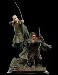 Legolas And Gimli Amon Hen Weta Lord Of The Rings Statue Sold Out Limited Edition