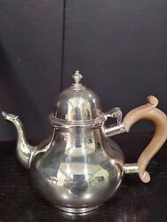 Vintage Wilson And Sharp London Queen Annie Style Sterling Silver Coffee Teapot