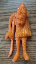 Vintage 1960s Mpc Uglies Marx Nutty Mads Fractured Francis,orange  S2
