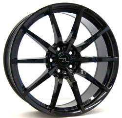 20 Gloss Black Shelby Gt350 Mustang Style Wheels 20x8.5 20x10 Flow Formed 05-21