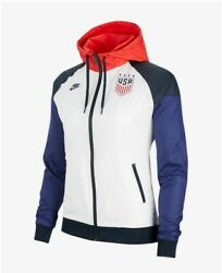 Nike Womenandrsquos Usa Uswnt Windrunner Jacket Soccer Windbreaker Zip Up World Cup S