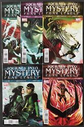 Journey Into Mystery 622 623 624 625 626 Leah Ikol Signed By Braithwaite Vf/nm