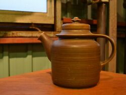 Vintage Pottery Teapot Arabia Gd Series Finland From Japan A
