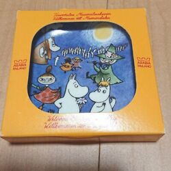 Arabia Discontinued Limited Wall Plate Decorative Plate Moomin With Box Japan A