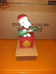 Hallmark 2011 Animated Snoopy Peanuts Wireless Christmas Band Parts And Repair