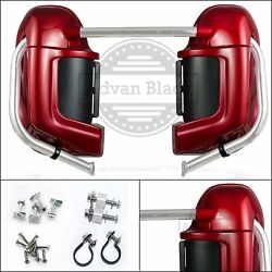 Color-matched Lower Vented Fairing Set Fit Harley Hd Road Glide 2003-2013
