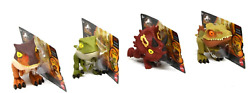Jurassic World Camp Cretaceous Snap Squad Set Of 4 Triceratops Spinosaurus Wave9