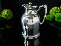 Hotel Silver Plate Pitcher Canadian Pacific Hotels