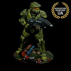 ⭐️halo Master Chief Board Game Painted Scifi Zombicide 28mm Starfinder Rpg Hero⭐