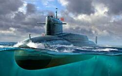 Pre Order Trumpeter 05910 1/144 Chinese Civil Release Navy092 Submarine Plastic