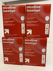Up And Up Nicotine Lozenge 4 Mg Cherry Flavor 288 Count Ext 12/22