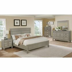 The Gray Barn Barish Bedroom Set With King Size Bed Grey King